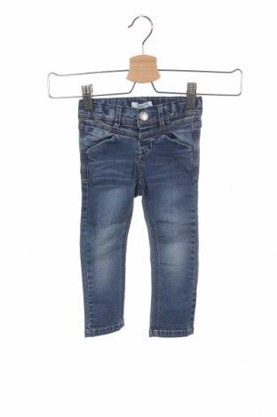 Детски дънки Name It, Размер 18-24m/ 86-98 см, Цвят Син, 54% памук, 26% полиестер, 18% вискоза, 2% еластан, Цена 13,00лв.