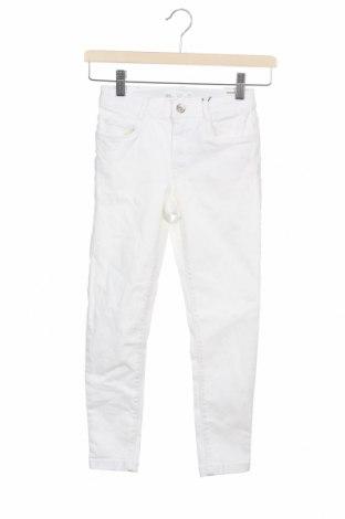 Παιδικά τζίν Zara, Μέγεθος 5-6y/ 116-122 εκ., Χρώμα Λευκό, 91% βαμβάκι, 6% ελαστάνη, 3% ελαστάνη, Τιμή 7,24€