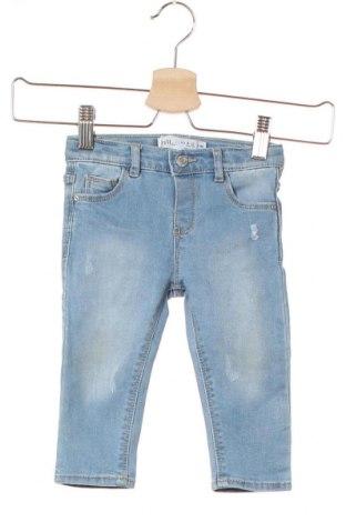 Παιδικά τζίν Zara, Μέγεθος 9-12m/ 74-80 εκ., Χρώμα Μπλέ, 65% βαμβάκι, 26% πολυεστέρας, 8% βισκόζη, 1% ελαστάνη, Τιμή 9,65€
