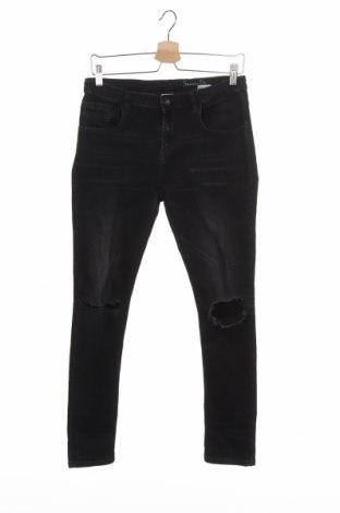 Детски дънки Zara, Размер 13-14y/ 164-168 см, Цвят Черен, Цена 11,48лв.