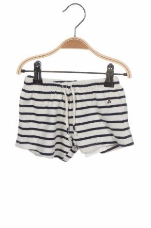 Dziecięce szorty Zara, Rozmiar 9-12m/ 74-80 cm, Kolor Biały, 97% bawełna, 3% elastyna, Cena 38,43zł