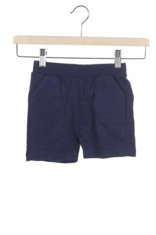 Pantaloni scurți pentru copii Zara, Mărime 3-4y/ 104-110 cm, Culoare Albastru, Bumbac, Preț 19,67 Lei