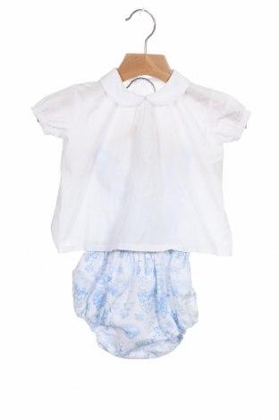 Dětský komplet  Lola Palacios, Velikost 9-12m/ 74-80 cm, Barva Modrá, 50% bavlna, 50% polyester, Cena  144,00Kč