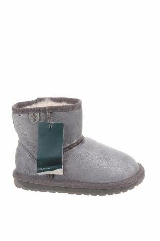 Детски обувки EMU Australia, Размер 25, Цвят Сив, Текстил, Цена 63,07лв.