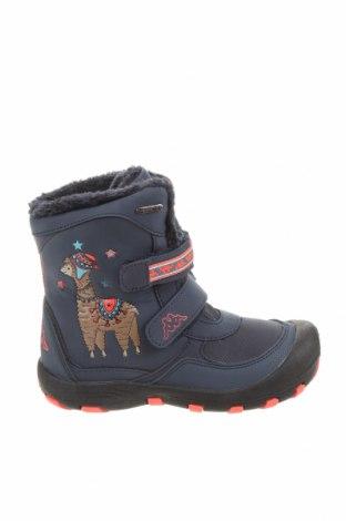 Детски обувки Kappa, Размер 31, Цвят Син, Еко кожа, Цена 51,62лв.
