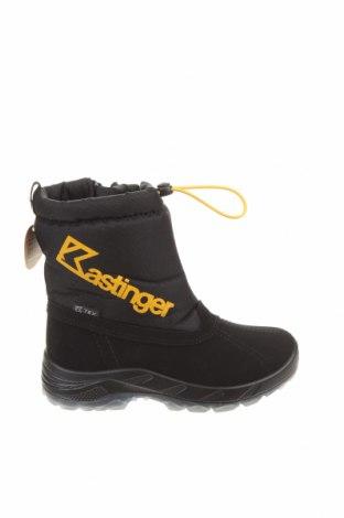 Παιδικά παπούτσια Kastinger, Μέγεθος 32, Χρώμα Μαύρο, Δερματίνη, κλωστοϋφαντουργικά προϊόντα, Τιμή 25,23€
