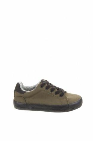 Детски обувки Lefties, Размер 32, Цвят Зелен, Еко кожа, Цена 15,54лв.