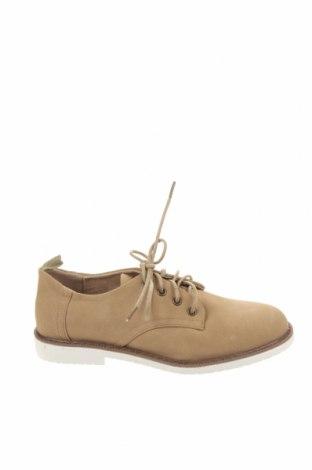 Детски обувки Lefties, Размер 33, Цвят Бежов, Еко кожа, Цена 7,78лв.