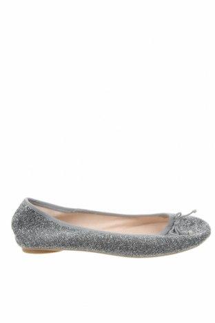 Детски обувки Lefties, Размер 35, Цвят Сребрист, Текстил, Цена 9,86лв.