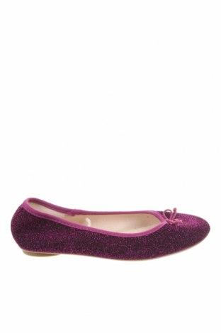 Детски обувки Lefties, Размер 34, Цвят Лилав, Текстил, Цена 3,00лв.