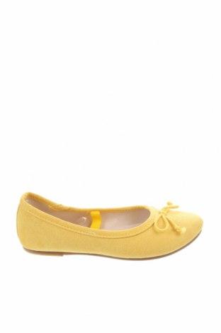 Детски обувки Lefties, Размер 27, Цвят Жълт, Текстил, Цена 6,80лв.