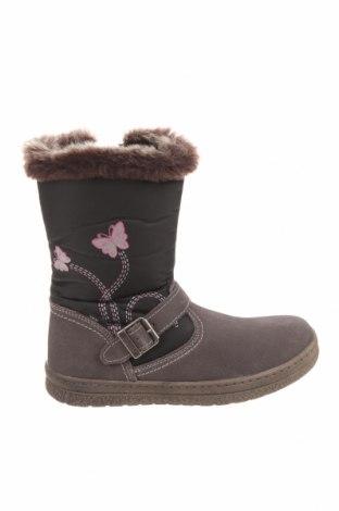 Παιδικά παπούτσια Lurchi, Μέγεθος 33, Χρώμα Γκρί, Κλωστοϋφαντουργικά προϊόντα, φυσικό σουέτ, Τιμή 26,25€