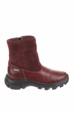 Dětské boty  Naturino, Velikost 28, Barva Červená, Pravá kůže, Přírodní velur , Cena  857,00Kč