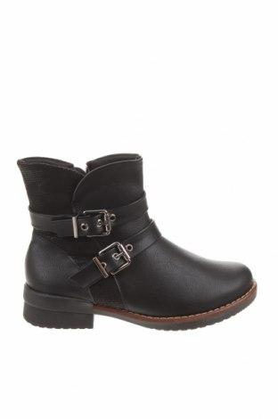 Детски обувки Piccadilly, Размер 36, Цвят Черен, Еко кожа, текстил, Цена 45,39лв.