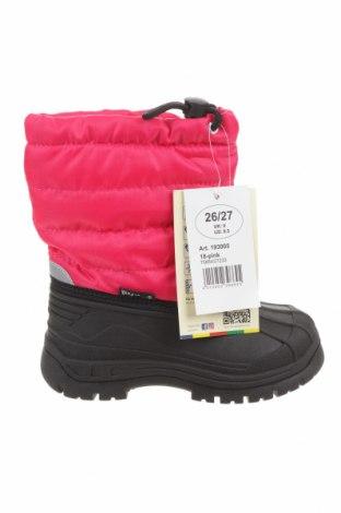 Детски обувки Playshoes, Размер 26, Цвят Розов, Еко кожа, текстил, Цена 48,95лв.
