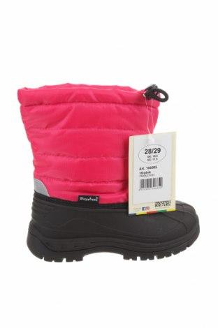 Детски обувки Playshoes, Размер 28, Цвят Черен, Еко кожа, текстил, Цена 48,95лв.