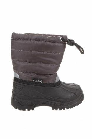 Детски обувки Playshoes, Размер 22, Цвят Сив, Еко кожа, текстил, Цена 48,95лв.