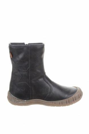Детски обувки Pom Pom, Размер 34, Цвят Син, Естествена кожа, Цена 54,45лв.