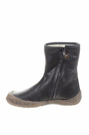 Детски обувки Pom Pom, Размер 34, Цвят Син, Естествена кожа, Цена 74,25лв.