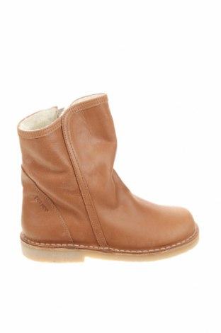 Детски обувки Pom Pom, Размер 30, Цвят Кафяв, Естествена кожа, Цена 68,37лв.