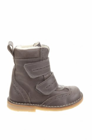 Детски обувки Pom Pom, Размер 24, Цвят Сив, Естествена кожа, Цена 64,66лв.