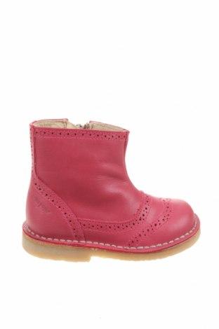 Детски обувки Pom Pom, Размер 21, Цвят Розов, Естествена кожа, Цена 57,77лв.