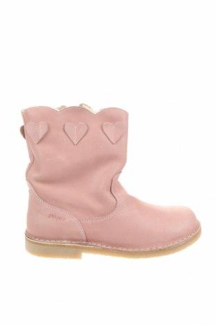 Детски обувки Pom Pom, Размер 34, Цвят Розов, Естествена кожа, Цена 68,37лв.