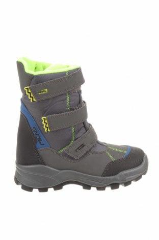 Детски обувки Primigi, Размер 34, Цвят Сив, Еко кожа, текстил, Цена 59,95лв.