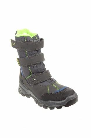 Детски обувки Primigi, Размер 35, Цвят Син, Еко кожа, текстил, Цена 81,75лв.