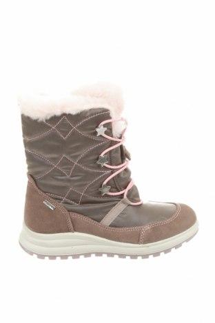 Детски обувки Primigi, Размер 32, Цвят Сив, Естествен велур, текстил, Цена 65,45лв.
