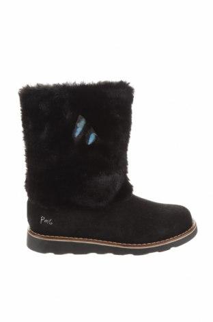 Детски обувки Primigi, Размер 35, Цвят Черен, Естествен велур, Цена 76,45лв.
