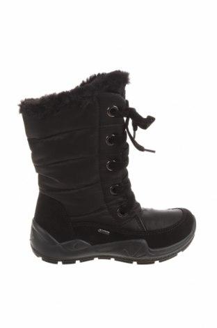 Детски обувки Primigi, Размер 34, Цвят Черен, Естествен велур, текстил, Цена 76,45лв.