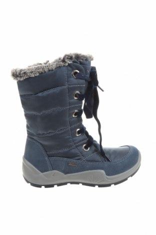 Детски обувки Primigi, Размер 34, Цвят Син, Естествена кожа, текстил, Цена 76,45лв.