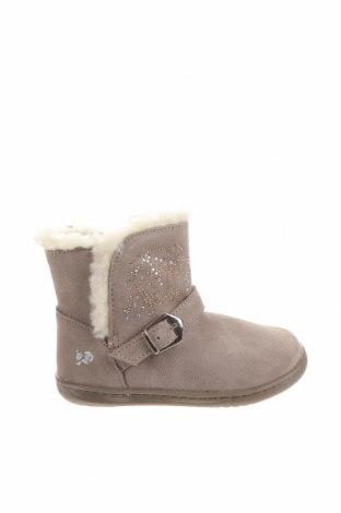 Детски обувки Primigi, Размер 23, Цвят Сив, Естествен велур, Цена 76,45лв.