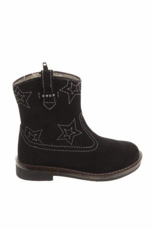Dětské boty  Vertbaudet, Velikost 27, Barva Černá, Přírodní velur , Cena  548,00Kč