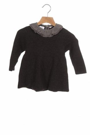 Dziecięcy sweter Zara, Rozmiar 12-18m/ 80-86 cm, Kolor Szary, 49% wiskoza, 30% poliester, 21% poliamid, Cena 13,67zł