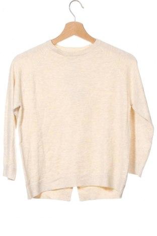 Pulover pentru copii Zara Kids, Mărime 8-9y/ 134-140 cm, Culoare Bej, 70% viscoză, 30% poliamidă, Preț 55,16 Lei