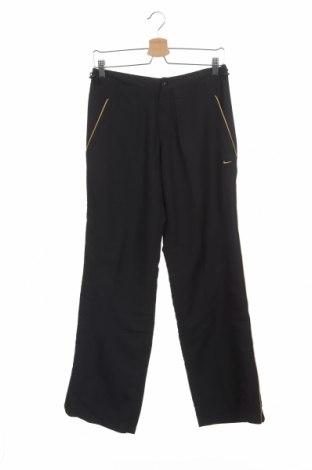 Pantaloni de trening, pentru copii Nike, Mărime 11-12y/ 152-158 cm, Culoare Negru, 100% poliester, Preț 40,20 Lei