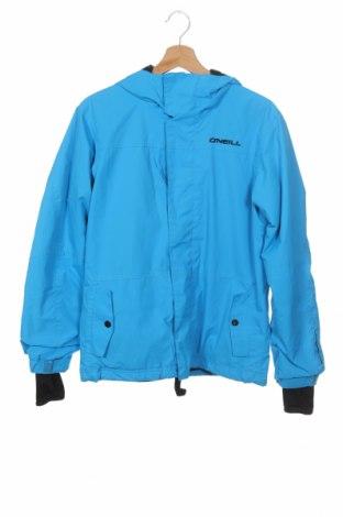 Dziecięca zimowa kurtka sportowa O'neill, Rozmiar 13-14y/ 164-168 cm, Kolor Niebieski, Poliester, Cena 170,40zł