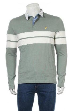 Bluză de bărbați Pier One, Mărime M, Culoare Verde, Bumbac, Preț 53,19 Lei