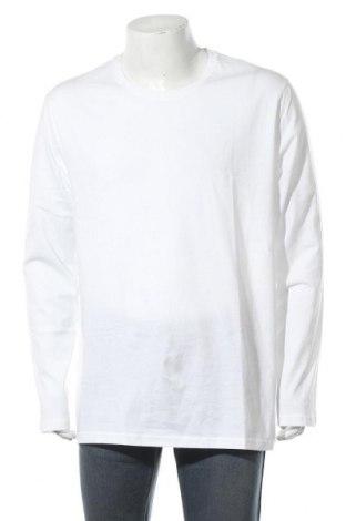 Мъжка блуза United Colors Of Benetton, Размер 3XL, Цвят Бял, Памук, Цена 3,33лв.