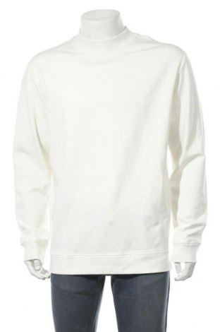 Мъжка блуза Zara, Размер XL, Цвят Бял, 80% вискоза, 15% полиамид, 5% еластан, Цена 16,44лв.