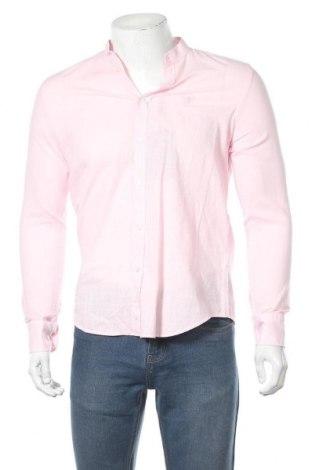 Мъжка риза Auden Cavill, Размер S, Цвят Розов, Памук, Цена 6,58лв.