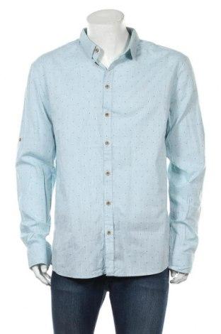 Мъжка риза Blend, Размер XXL, Цвят Син, Памук, Цена 26,88лв.