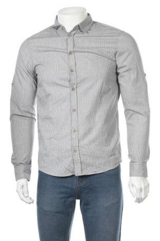 Мъжка риза Blend, Размер S, Цвят Сив, Памук, Цена 7,07лв.