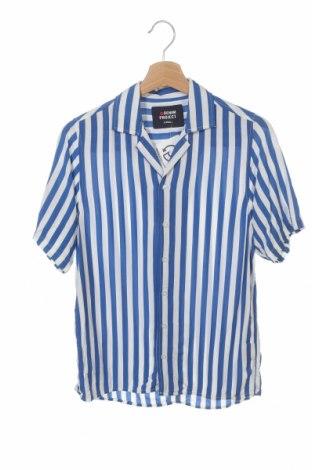 Мъжка риза Denim Project, Размер XS, Цвят Бял, Вискоза, Цена 6,48лв.