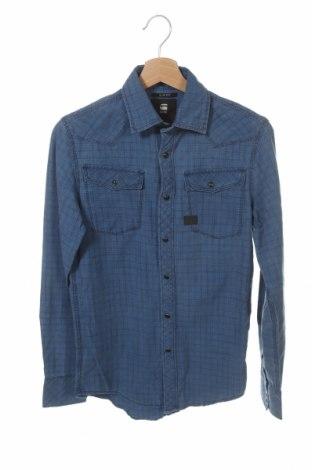Мъжка риза G-Star Raw, Размер XXS, Цвят Син, Памук, Цена 23,80лв.