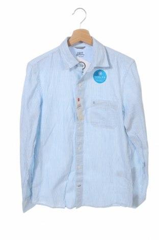 Мъжка риза Izod, Размер S, Цвят Син, Памук, Цена 10,92лв.
