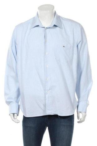 Мъжка риза Lacoste, Размер M, Цвят Син, 85% памук, 15% полиестер, Цена 34,50лв.
