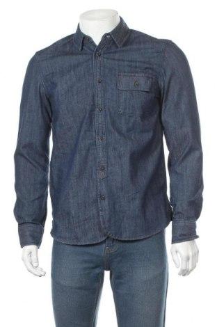 Мъжка риза Mustang, Размер S, Цвят Син, Памук, Цена 16,18лв.